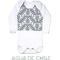 Body para bebé, 6 a 9 meses, color gris con bordado hecho a mano, ropa para bebe reborn