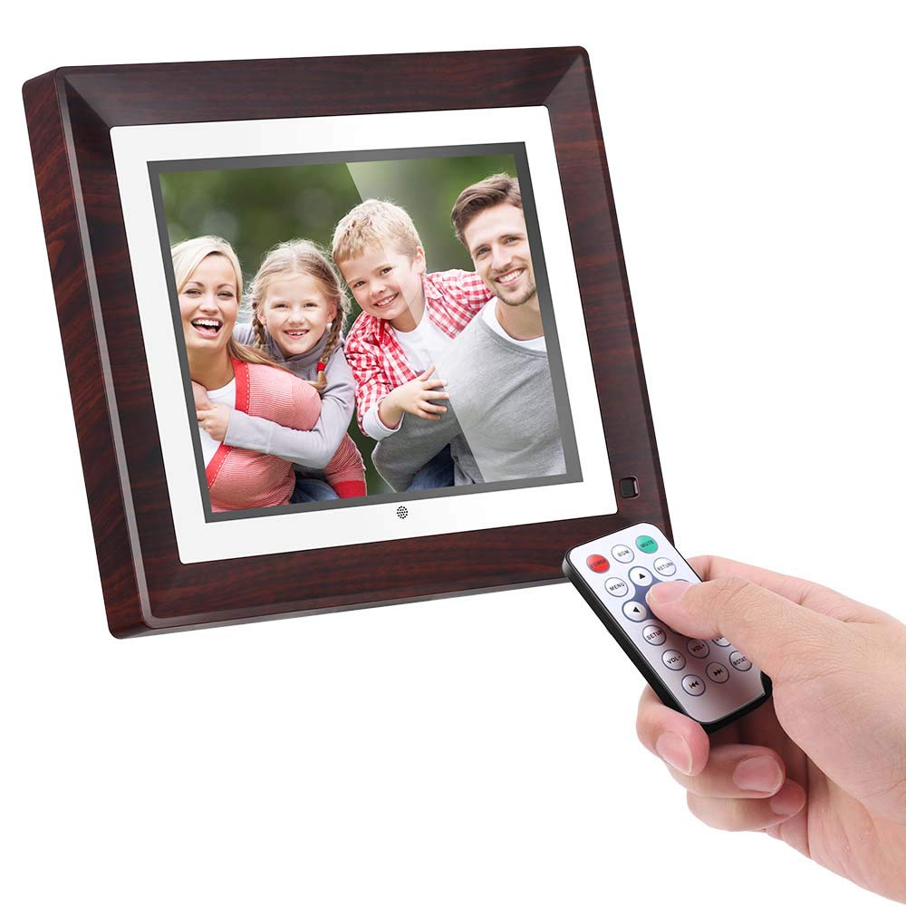 BSIMB Digital Picture Frame Digital Photo Frame 9 inch IPS Display 1067x800(4:3) Hi-Res Digital Photo & HD Video Frame and Motion Sensor USB/SD Card Playback Infrared Remote Control M09 by Bsimb (Image #5)