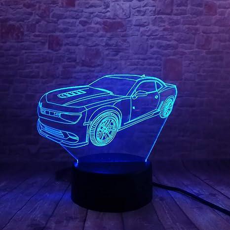 Classic 3D Car Jalopy Chevrolet LED Visual Night Light ...