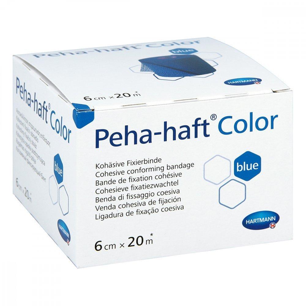 Hartmann 9324731 Verbände, Peha-Haft Color latexfrei, 6 cm x 20 m ...