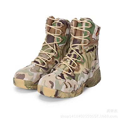 QIKAI Kampfstiefel 07 Special Forces Die Outdoor