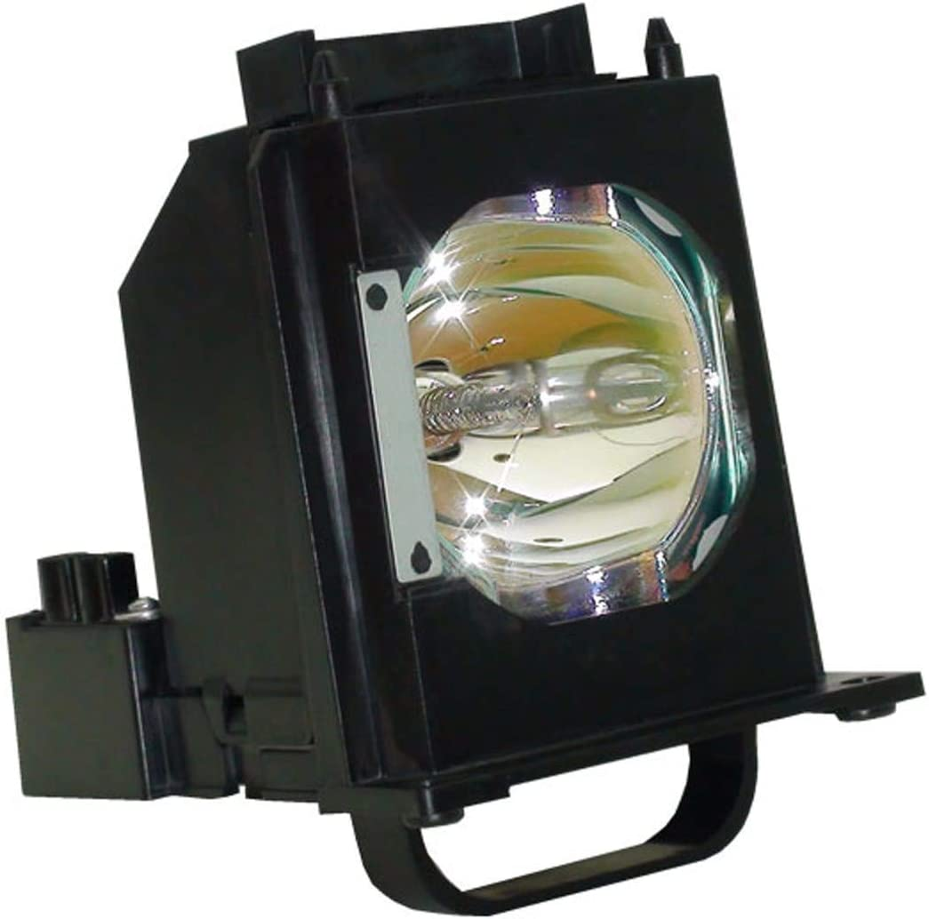 AuraBeam 915B403001 Professional Mitsubishi TV Lamp Replacement for WD-73835 Genuine Original Philips Bulb with Housing
