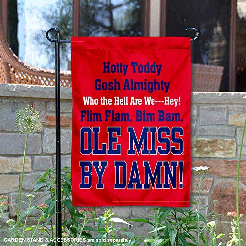 College Flags and Banners Co. Mississippi Rebels Hotty Toddy Garden Flag]()