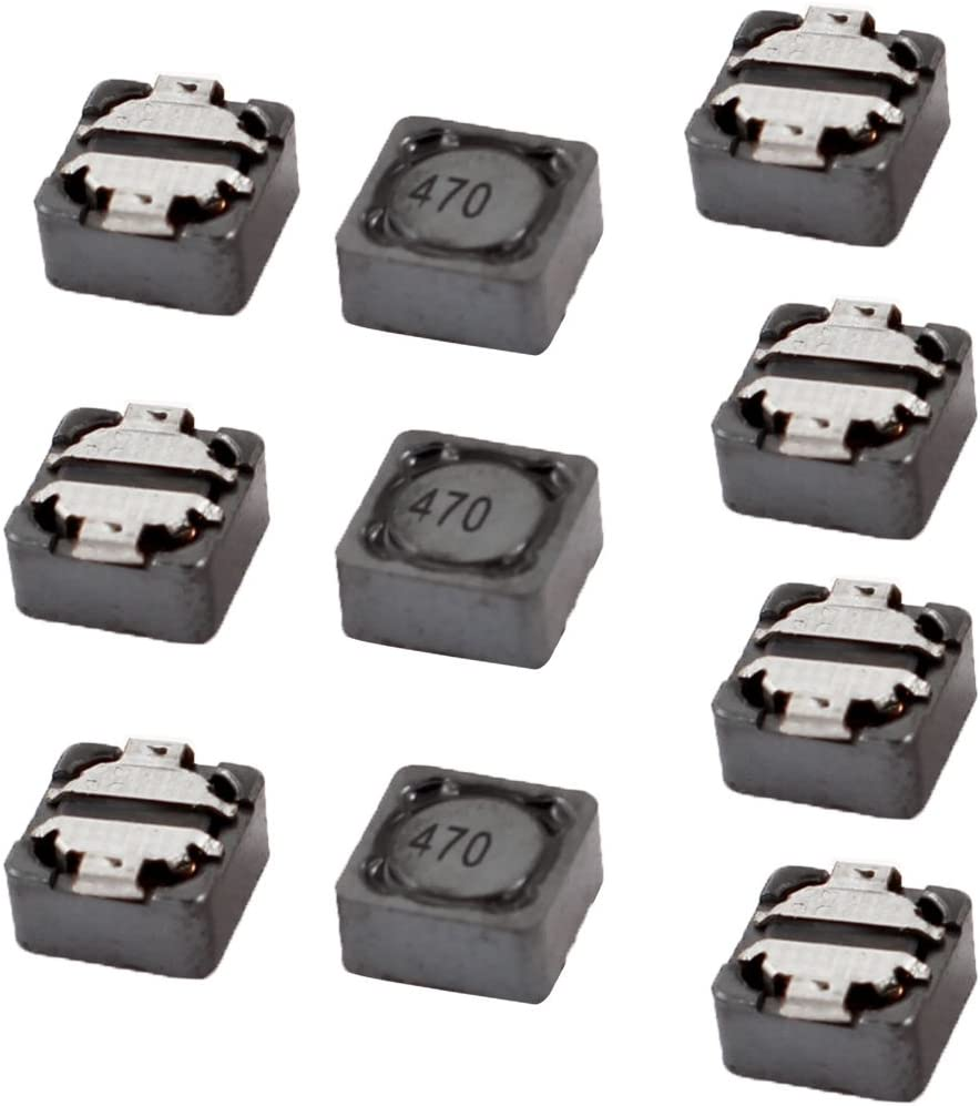 943766 Aexit 0.88A Induttori SMD con montaggio superficiale 20/% RH74 47uH 7mmx7mmx4mm 10 pezzi ID