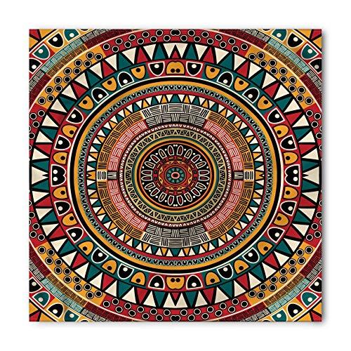 (Ambesonne Tribal Bandana, African Ethnic Color Art, Unisex Head and Neck Tie)