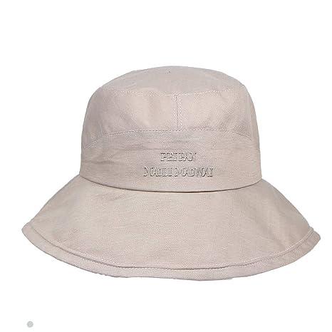 Qiiueen Sombrero De Mujer, Sombrero De Pescador Súper Grande De ...