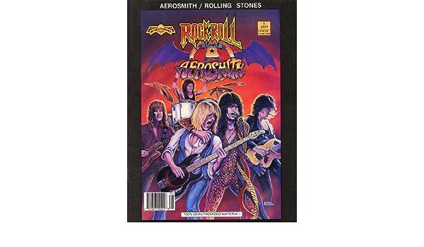 Revolutionary Comics *-Aerosmith Jan 5 Rock /'N/' Roll Comics