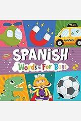 ABC Spanish Book for boys: Alfabeto Spanish Bilingual Edition Kindle Edition