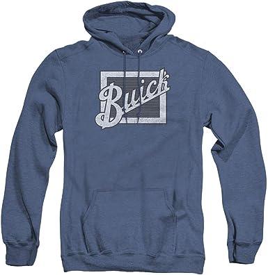 Buick Classic DISTRESSED EMBLEM Licensed Sweatshirt Hoodie