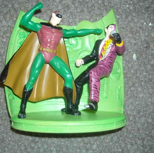 Batman Forever Robin Vs. Two-Face on Claw Island