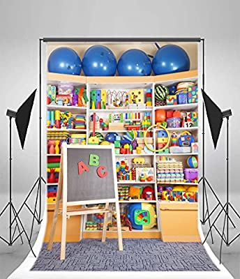 Educational 10x12 FT Photo Backdrops,Animals Placed on Letter of The Alphabet Teachers Chart Classroom Kindergarten Background for Photography Kids Adult Photo Booth Video Shoot Vinyl Studio Props