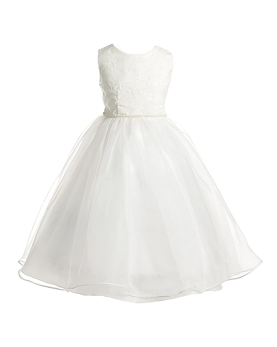 Amazon Joy Kids Girls Lace Special Occasion Flower Girl Ankle