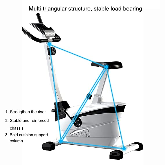 Steppers silenciosos de Bicicleta estática for el Entrenador en ...