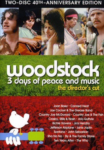 Woodstock: Three Days of Peace & Music (Two-Disc 40th Anniversary Director's Cut) ()
