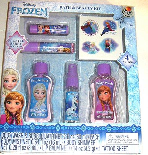 Disney Frozen Children's Bath and Beauty Kit -