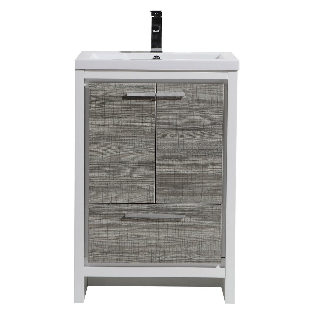 Marvelous Amazon.com: Morenobath Dolce 24 In. Free Standing Single Sink Bathroom  Vanity With 2 Doors: Home U0026 Kitchen Ideas