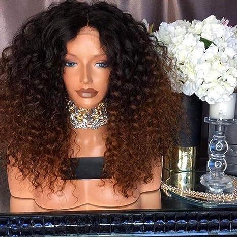 WQWIG Perruques pour Femmes Noires Perruque