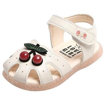 iYBWZH Baby Sandals Closed Toe