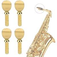 Vis d'embouchure de saxophone pour laiton ténor alto ténor soprano saxophone clarinette Sib 4pcs or
