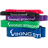 Viking Strong Pull Up Bands, Pull-Up Assist Bands, Resistance Bands, Mobility Band, Powerlifting Bands, Jump Stretch Bands.Includes E-guide (CHOOSE ONE OF FIVE, NOT A SET: SINGLE PULL UP BAND)