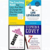 img - for 7 Habits of highly effective people personal workbook, coaching habit, drive, life leverage 4 books collection set book / textbook / text book