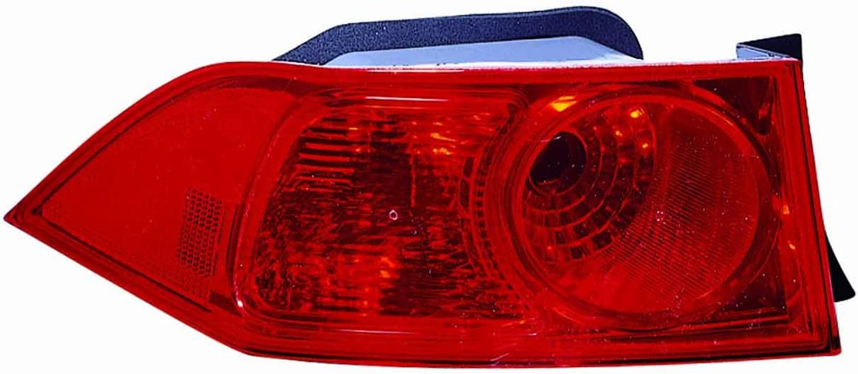 Replacement Depo Driver Side Tail Light for 06-08 Acura Tsx 33506SECA51 AC2818109N