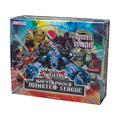 Konami Yu-Gi-Oh Battle Pack 3: Monster League 1st Edition Booster Box