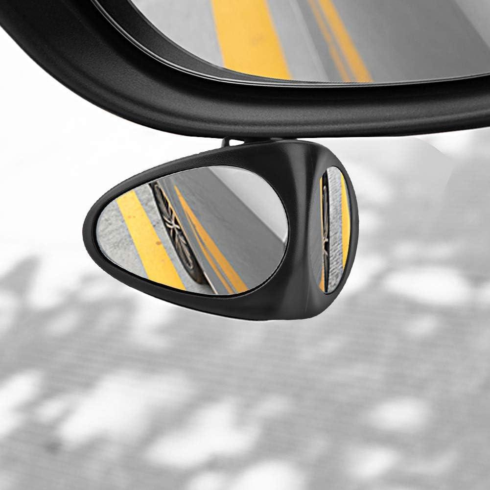 Fydun Car Blind Mirrors 2Pcs Car Blind Spot Mirror 360/° Adjustable Reversing Front and Rear View Mirrors
