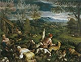 Beautiful Oil Paints on Canvas Without Stretch and Without Frame ,Bassano (Workshop) La Primavera Second half of 16 Century , is the best gift for your relatives, or girl friend and boy friend. That is also for Bar, Basement, Bathroom, Bedroo...