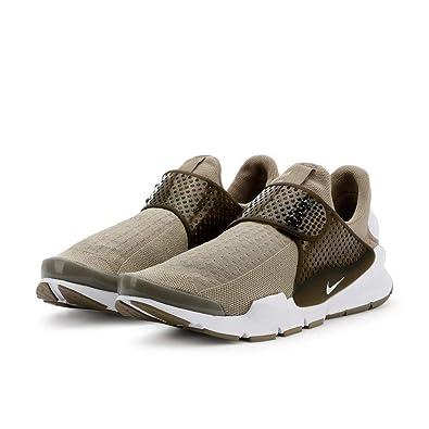 best sneakers d901c 9a4f4 Amazon.com | NIKE Sock Dart KJCRD Khaki/White-Cargo Khaki ...