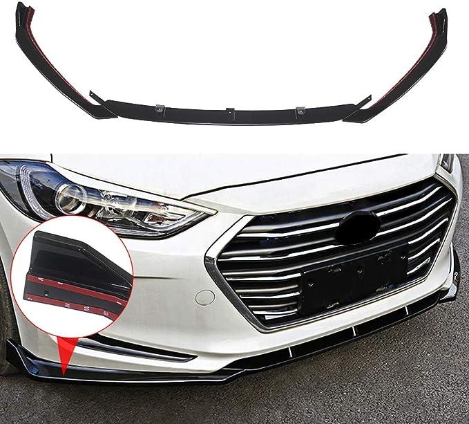Front Bumper Skirt Lip Body Kit Painted For Hyundai Elantra 2017+ Avante AD
