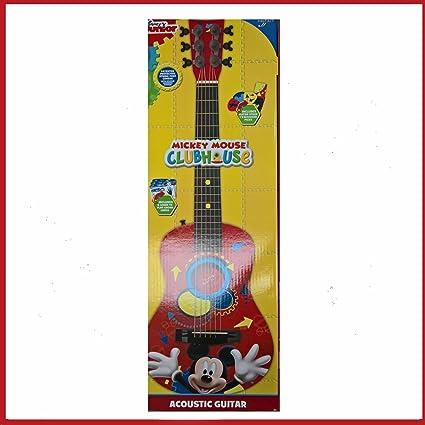 Disney guitarra acústica mickey mouse.: Amazon.es: Belleza