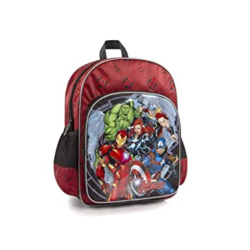ff8db06c6029e6 Marvel Avengers Kids Backpack - 15 inch School Bag for Boys [Iron Man, Thor,  Wonder Women, Hulk]: Amazon.ca: Toys & Games