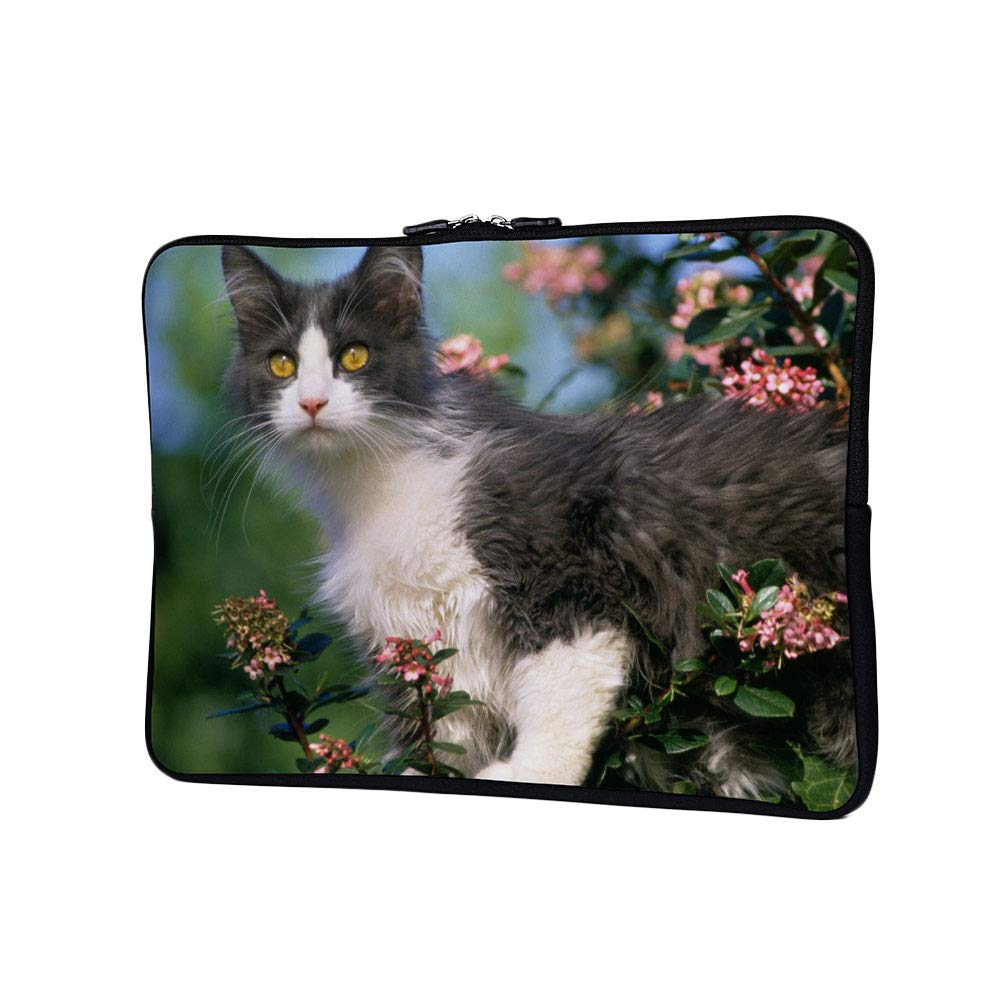 742a997e8dec Amazon.com: DKISEE Abstract Cat Superb Neoprene Laptop Sleeve Case ...