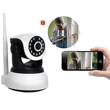 Cámara de seguridad con detector de movimiento, cámara IP Micrófono, cámara WiFi Android Dome