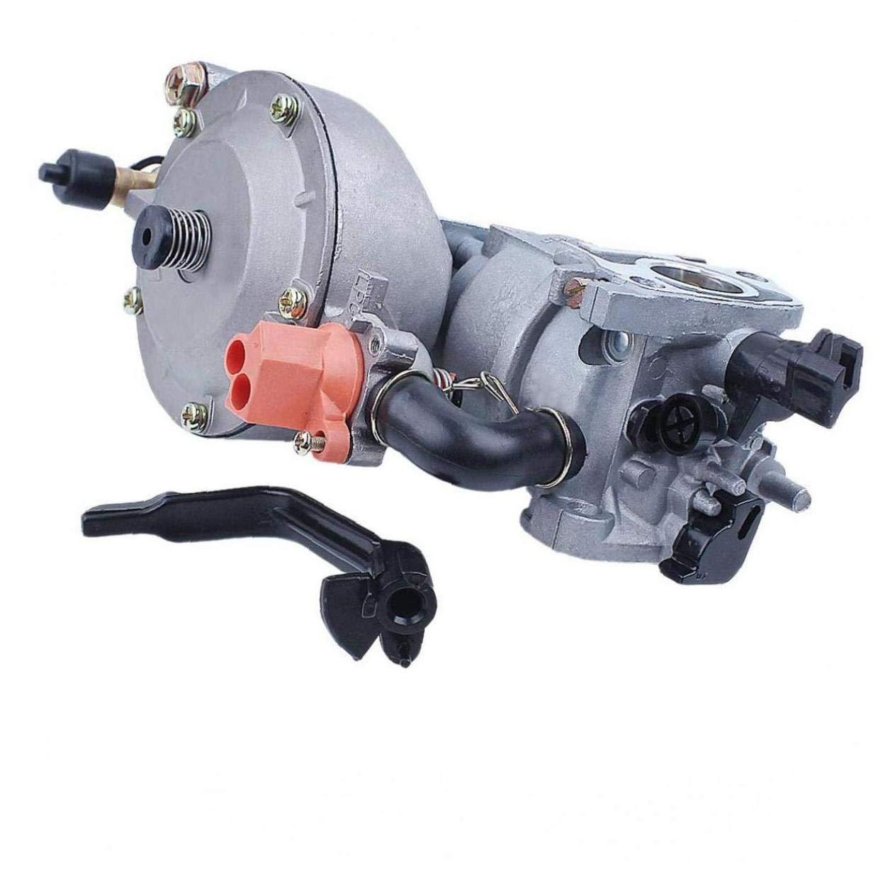 Hiinice Kit di filtri Dual Fuel carburatore per Honda GX160 5.5HP GX200 Engine Motore CNG GPL Parti di Ricambio e Accessori