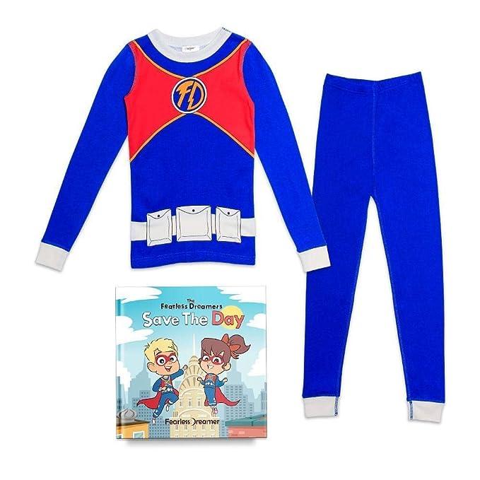 Amazon.com: Fearless Dreamer Superhero - Juego de pijamas de ...