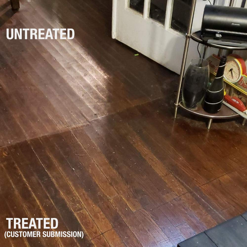 Ultra HIGH Gloss 33% Solids Floor Finish Wax - 4 Gallon Case (More Durable, Less Coats, Less Labor) by Green Gobbler (Image #5)
