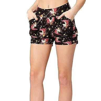 FELZ Pantalones Cortos Mujer Pantalones Cortos de Las señoras ...