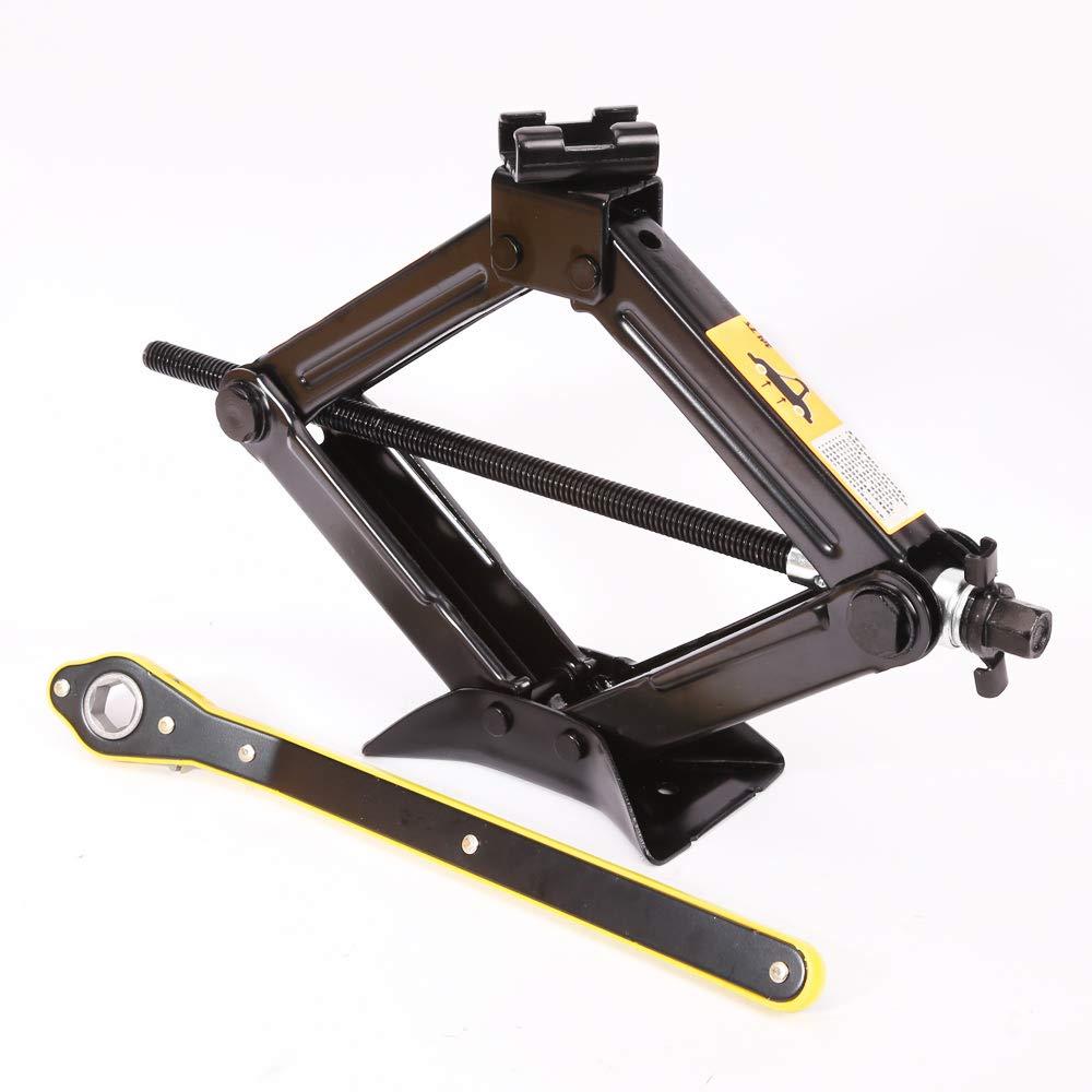 LEAD BRAND Scissor Jack 1.5 Tons Capacity Saving Strength Design VA004 3,307 lbs