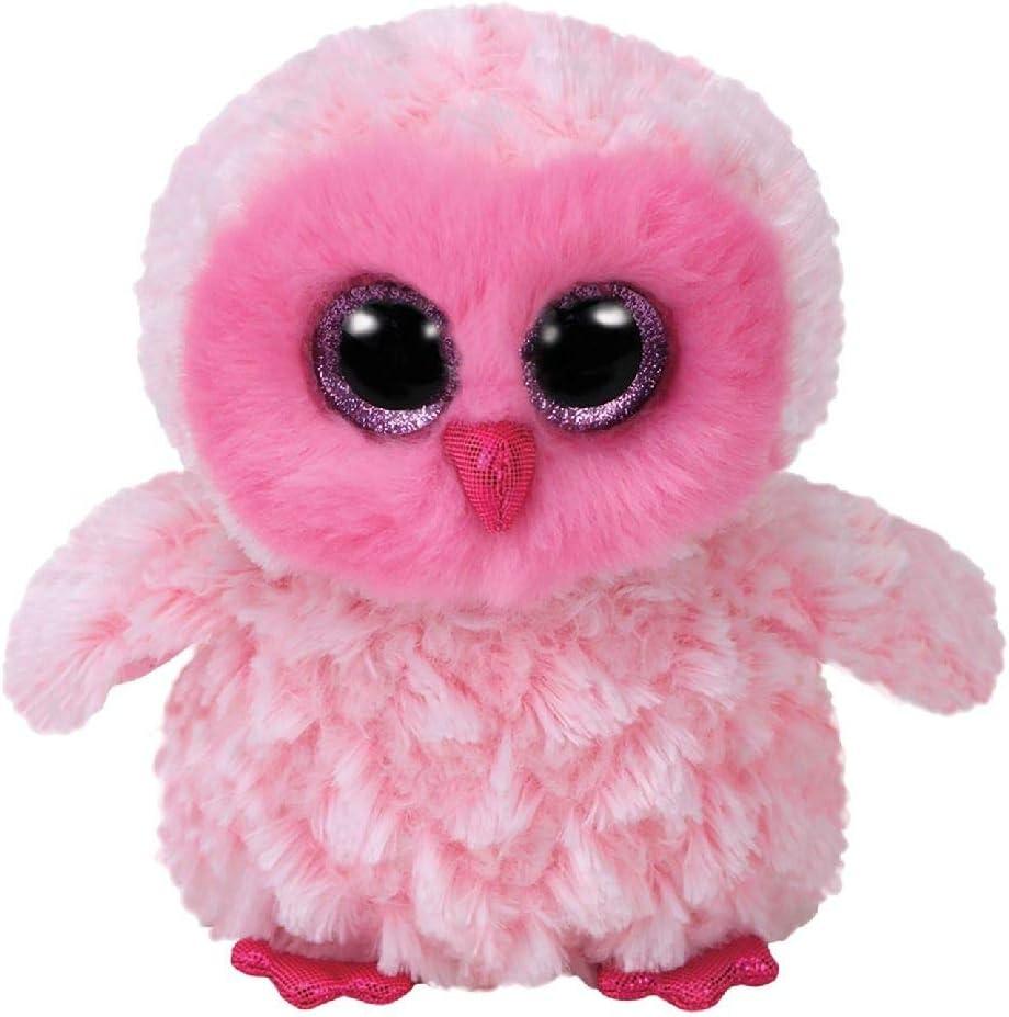 TY Beanie Boos Twiggy - Pink Owl Reg Plush