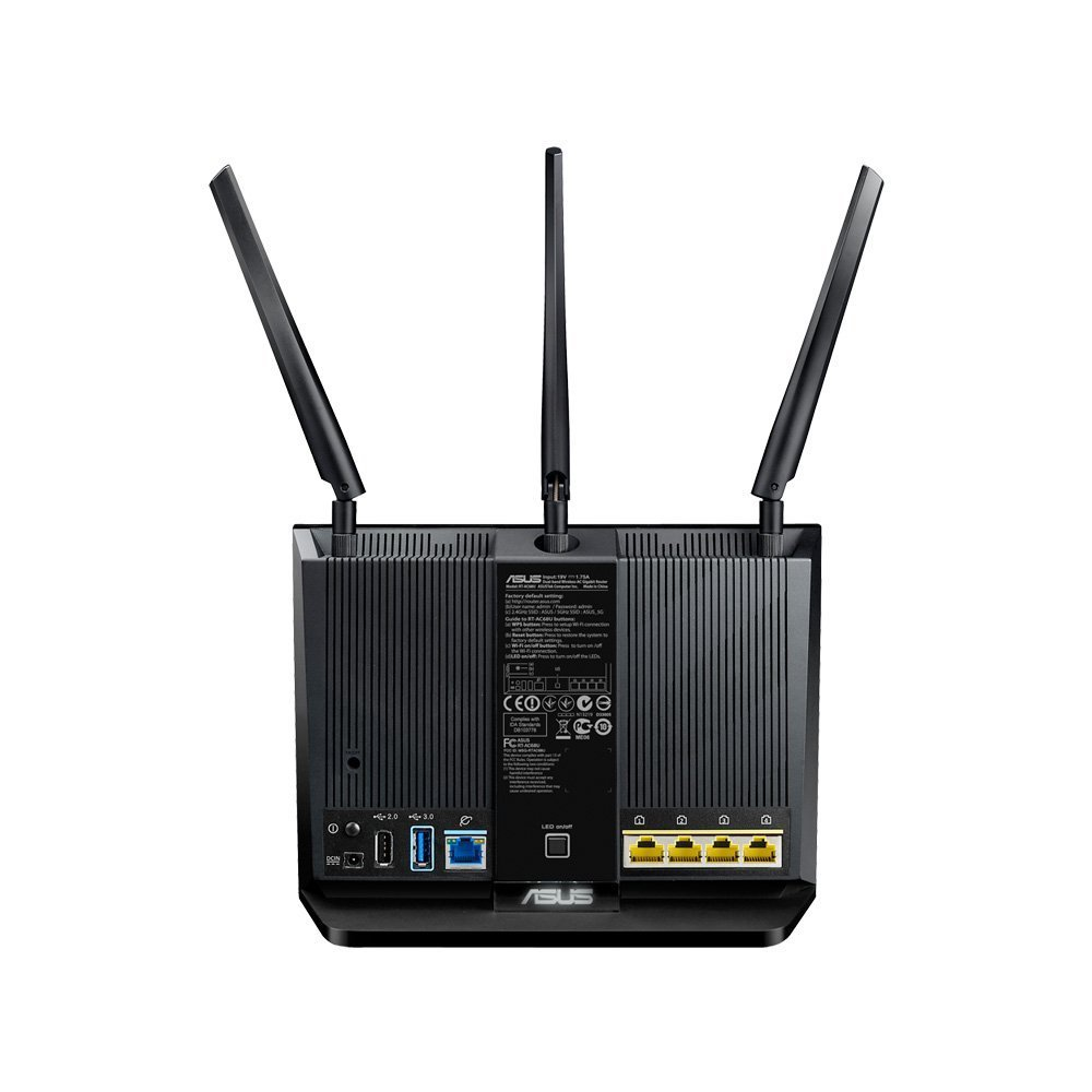 T Mobile Ac 1900 By Asus Wireless Ac1900 Dual Band Gigabit Router Aiprotection With Trend Micro For Complete Network Security