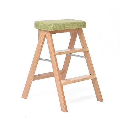 Kitchen stool Taburetes Escalera Taburete Escalera De Madera ...