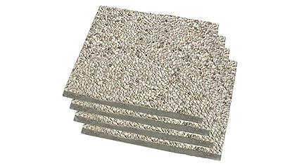 Set kit 4 marmette mattonelle base per ombrellone ombrelloni cm