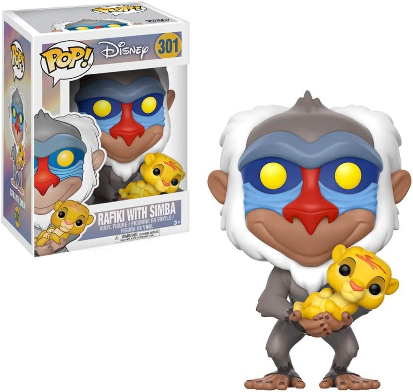 551 Funko Pop Rafiki Disney The Lion King