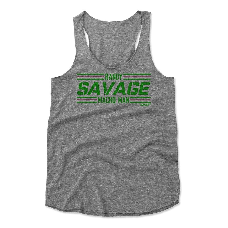 Randy Savage Striped Font G Wrestling Women's Tank Top