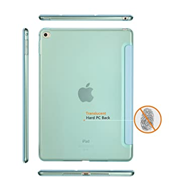 Amazon.com: iPad Air 2 Case, Dyasge Smart Case Cover with Magnetic Auto Wake & Sleep Feature and Tri-fold Stand for iPad Air 2 (iPad 6) Tablet, ...