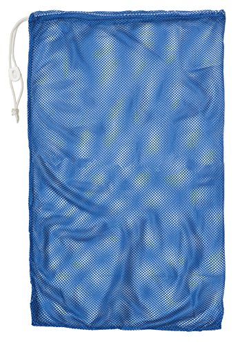 Champion Sports Mesh Equipment Bag, Royal Blue, 24