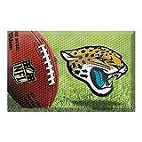 Fanmats 18964 Team Color 19'' x 30'' Jacksonville Jaguars Scraper Mat (NFL Ball)