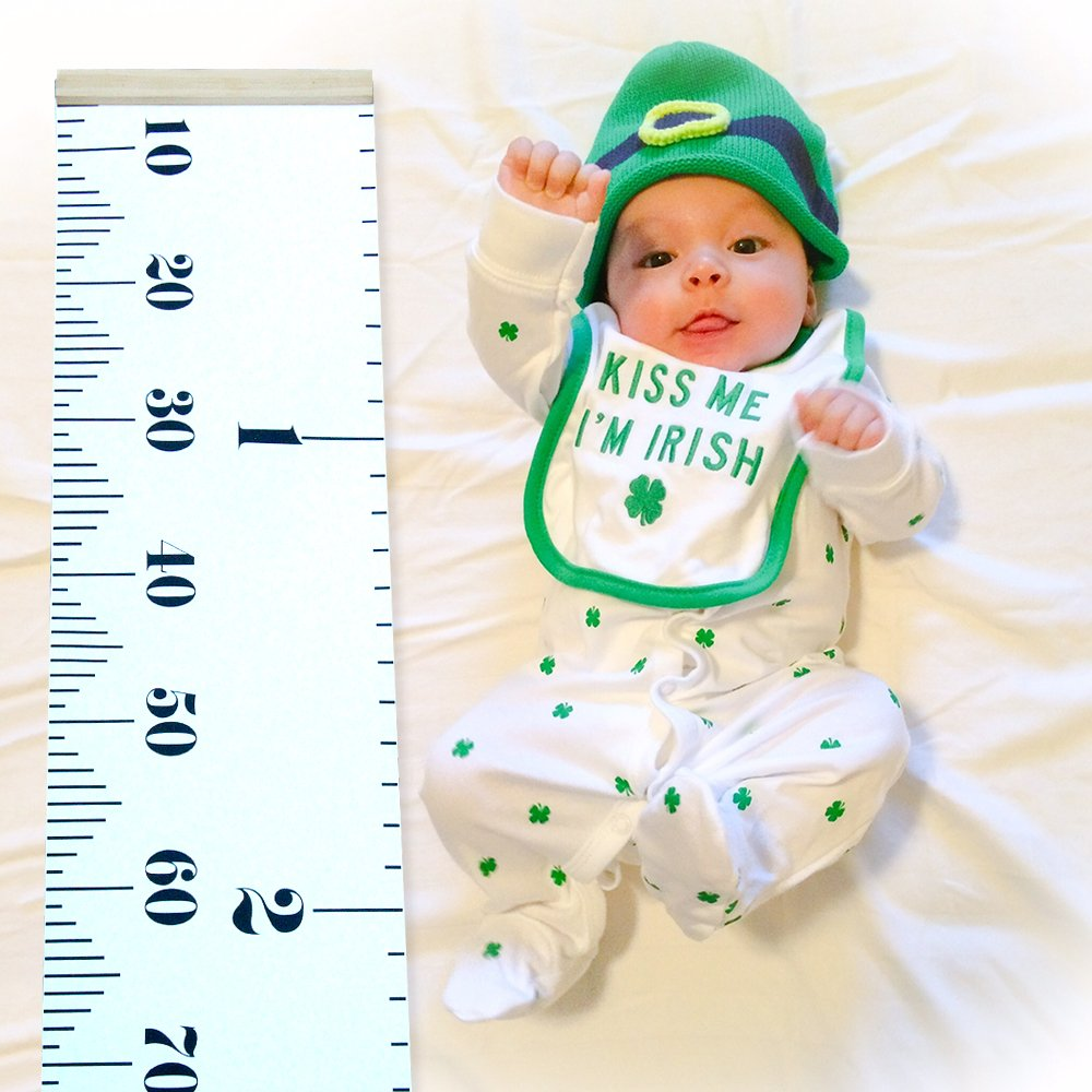 Baby height growth chart wall hanging ruler height measurement chart baby height growth chart wall hanging ruler height measurement chart with wood frame brief style kids toddlers room wall decoration 775x79 growth geenschuldenfo Gallery
